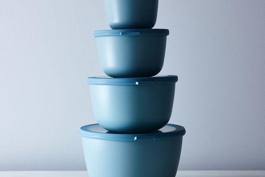 Microwavable Nested Storage Bowls with Bonus Bowl