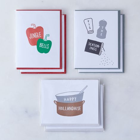 Food-Inspired Holiday Cards (Pack of 6)