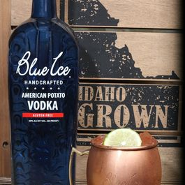 The Classic Skinny Mule by Blue Ice Vodka