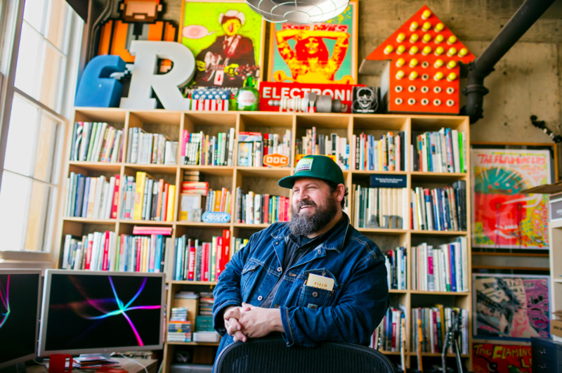 Aaron James Draplin Leah Nash for NYTimes