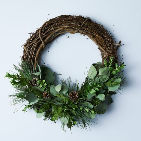Large Winter Branch Wreath