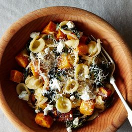 fall pasta by Catherine Lamb