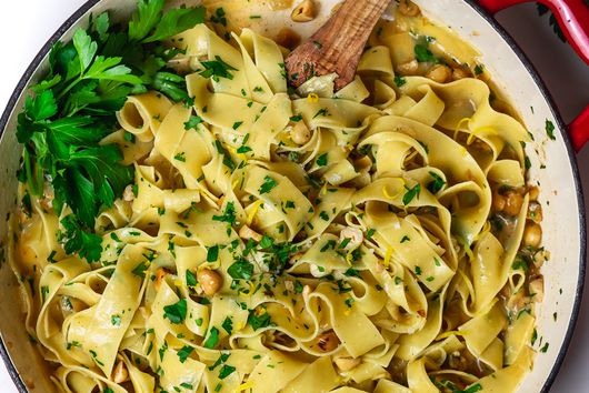 Hazelnut Brown Butter Pappardelle
