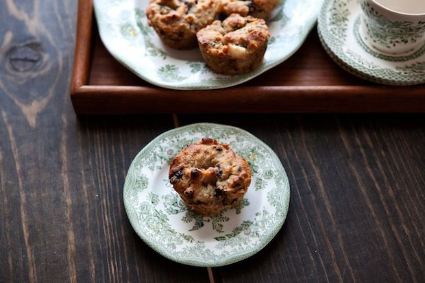 Chocolate almond muffins from Food52
