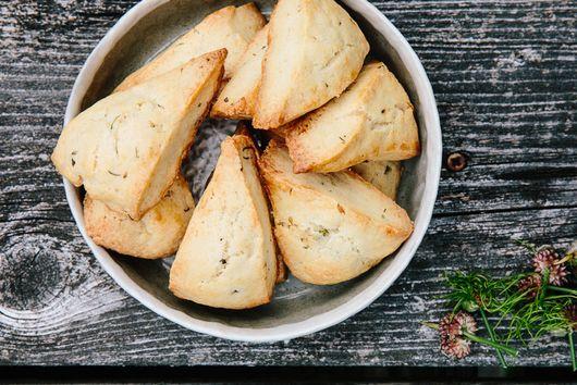 Wild Garlic Biscuits
