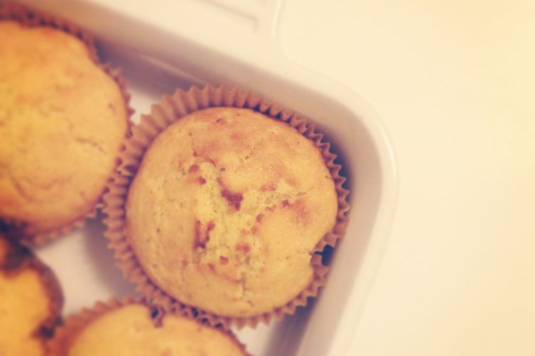 Corn Muffins with Black Pepper and Lime Zest