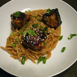 Yakitori Chicken Meatballs