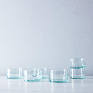Moroccan Spanish-Style Wine Glasses (Set of 6)