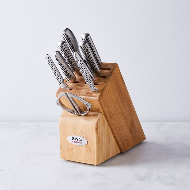 Global Classic Knife Collection 8 Options 8 Chef S 6 Chef S 8 5 Bread 7 Santoku 3 Paring 3 Piece Set 10 Piece Set On Food52