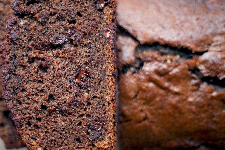 Chocolate Almond Banana Bread