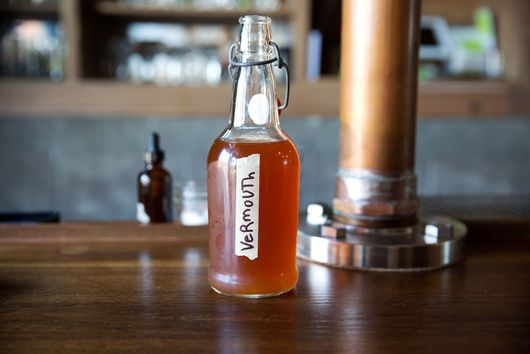 Emily's DIY Sweet Vermouth