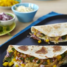 Mango-Chicken Quesadillas