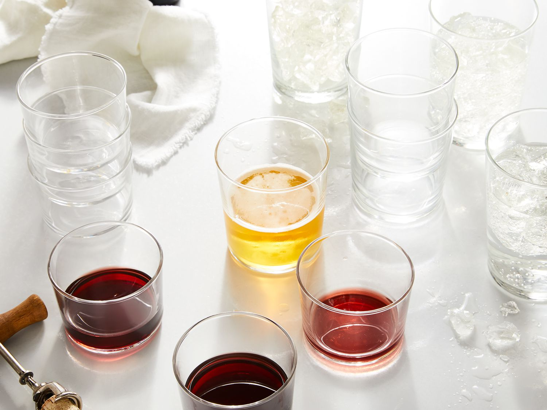 Bormioli Rocco Stackable Bodega Glasses 7 5 12 5 Or 17 25 Ounce On Food52