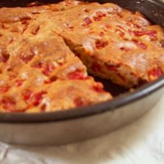 Savory Red Pepper Cake