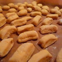 Sweet Potato Gnocchi with Chestnut Pesto