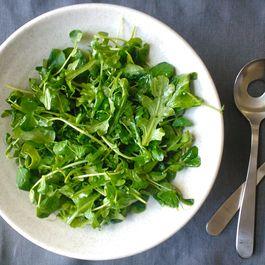 Baby Arugula Salad with Meyer Lemon Vinaigrette