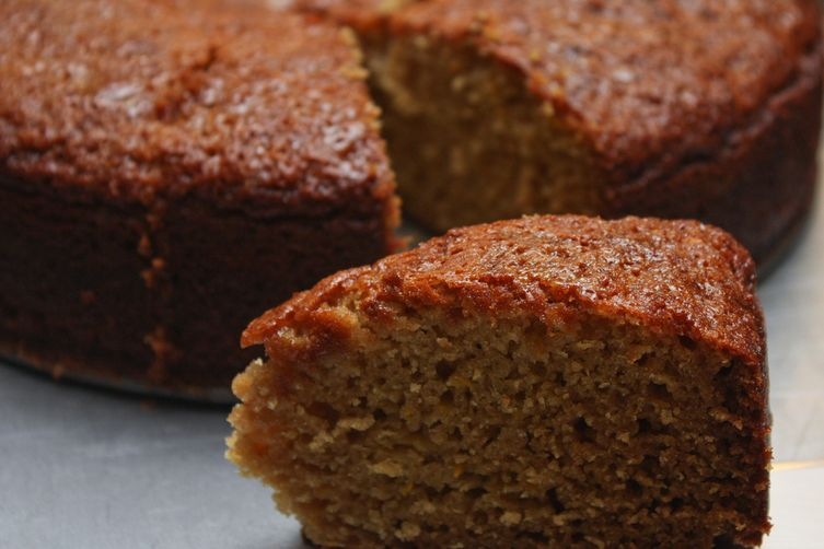 Chai Cake with Orange Honey Glaze