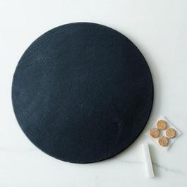 Round Slate Cheese Board