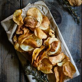 Rosemary & Garlic Potato Chips