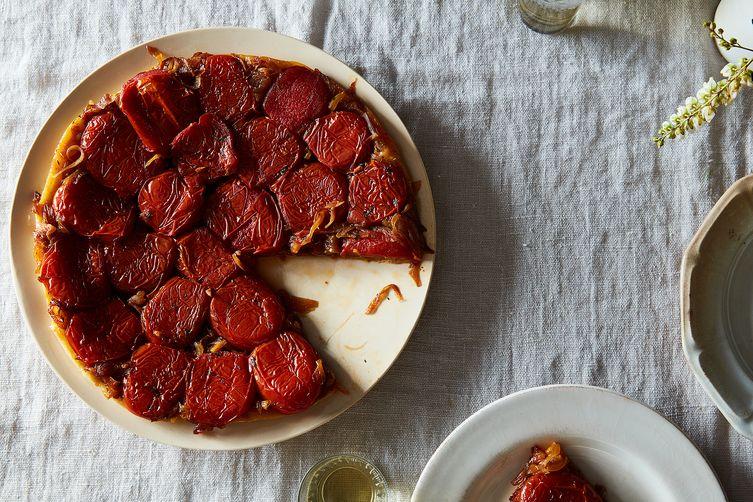 Caramelized Tomato Tarte Tatin