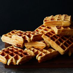 Yeast-Raised Waffles (and a Sundae Suggestion)