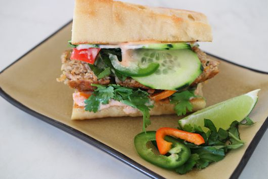Banh Meatloaf Sandwiches