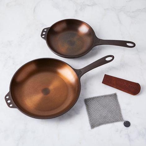 Smithey Cast Iron Cookware Set
