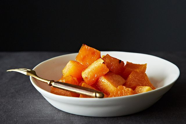 The Joy Kitchen's Roasted Cantaloupe from Food52