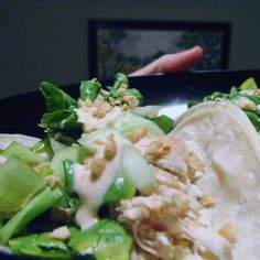 Chicken Bulgogi Tacos With Bok Choy Slaw