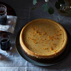 Amaro Ricotta Cheesecake