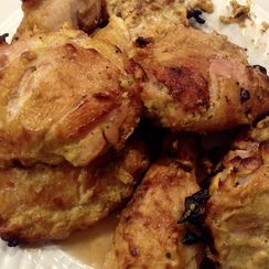 "Baked ""Coronation"" Style Chicken"