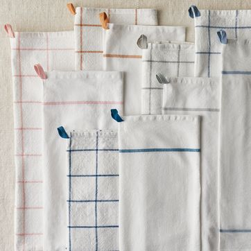 Five Two Essential Kitchen Towels from Food52, 100% Cotton ...