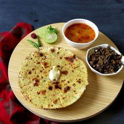 Rajasthani Missi Roti