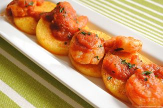 C454387a 04db 49eb 8098 f0044f824d61  polenta cakes and spicy chipotle shrimp3