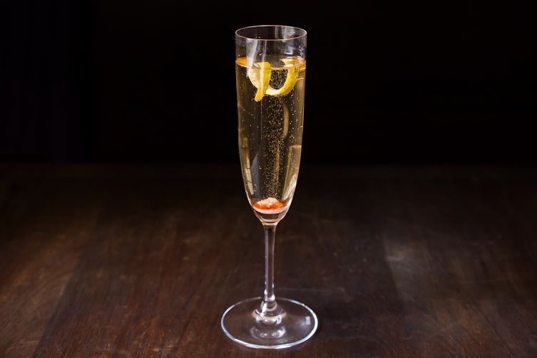 Champagne cocktail recipe on food52 for Champagne mixed drinks