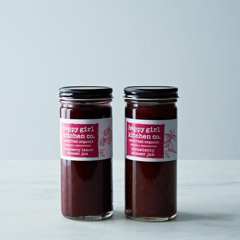 Raspberry Lemon & Strawberry Jam Duo