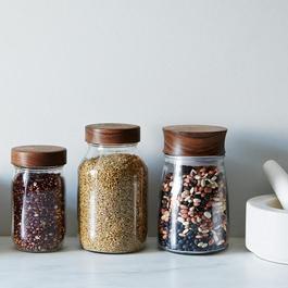 Hand-Turned Mason Jar & Lid