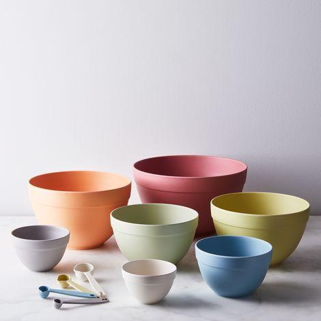 Bamboo 7-Piece Nesting Bowl Set