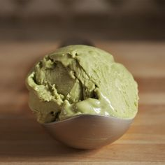 Matcha (Green Tea) Ice Cream with Yuzu Citrus