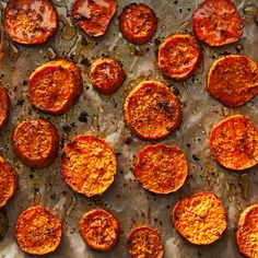 Orange Cardamom Roasted Sweet Potatoes