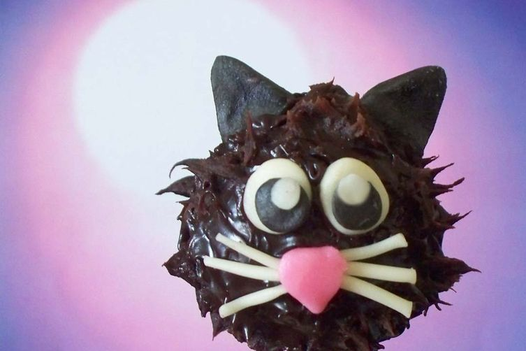 Black Cat Truffle Pops