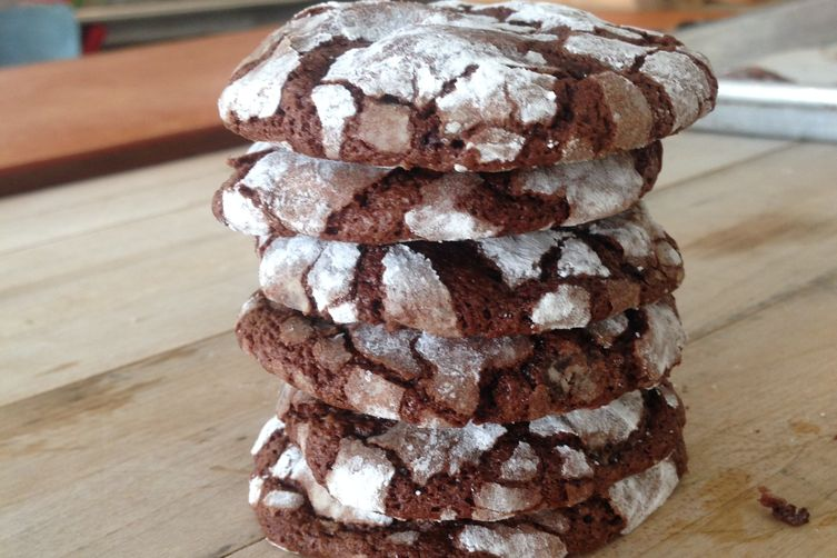 Spiced Brownie Biscuits