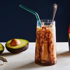 Iced Coffee with Avocado (Es Alpukat Kopi Susu)