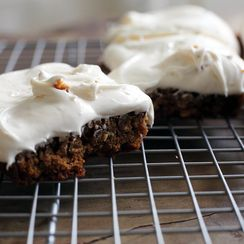 Iced Oatmeal Pie Bars