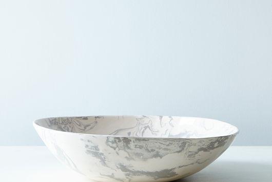 Ebru Ceramic Serving Bowl