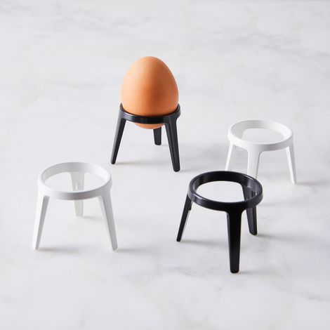 Enameled Stainless Steel Egg Holder (Set of 2)