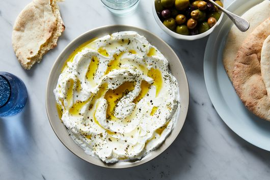 My Grandma's Garlicky Labneh Is the Ketchup to My Fries, the Butter to My Bread