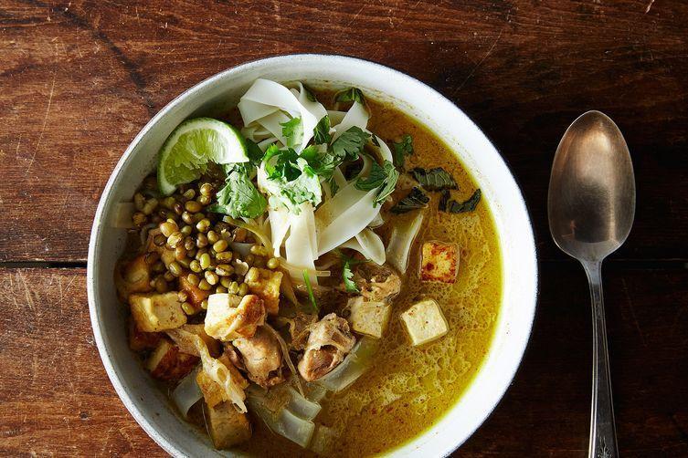 Chicken Tofu Laksa
