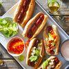 Spiralized Firecracker Hot Dogs