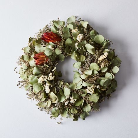 Dried Protea Wreath
